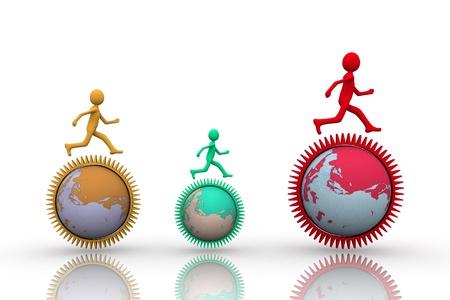 turning operation: Global Markets