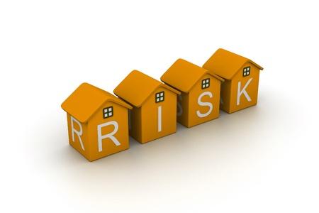 Seguro de riesgo Foto de archivo - 9297353
