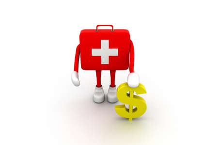questionably: First aid Stock Photo