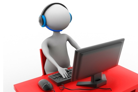 telephonist: support service