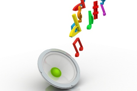 decibel: Sound Waves Stock Photo