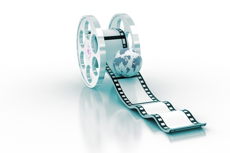 Movie Icon: Globe Stock Photo - 9547353
