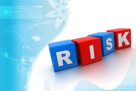 Risk Blocks Stock Photo - 9574923
