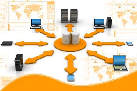 Network Database Stock Photo - 9574883