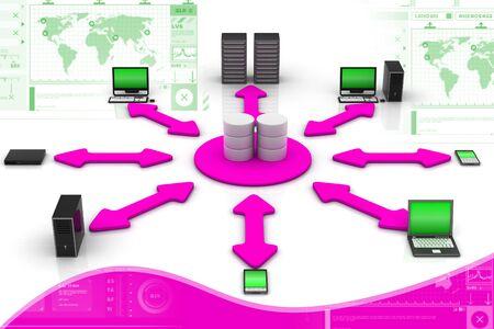 Network Database Stock Photo - 9574886
