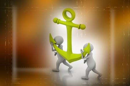 anchor Stock Photo - 9597630