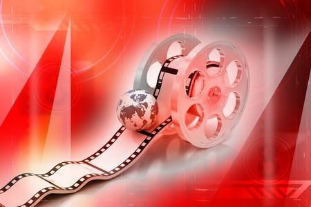 Movie Icon: Globe Stock Photo - 9597712