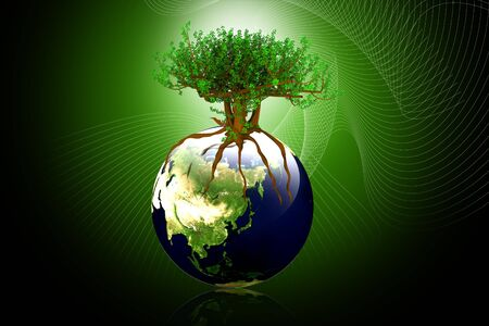 Green earth concept  photo