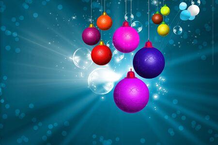 public celebratory event: Christmas decorations