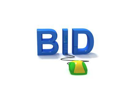 e auction: Bid in Internet