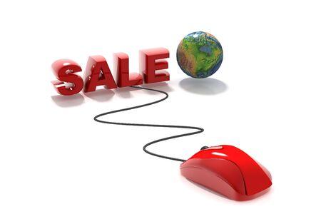 input device: Online Sale Stock Photo