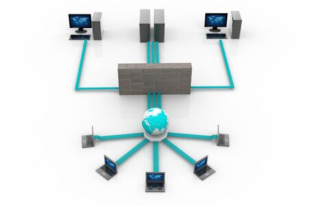 Computer Network Stock Photo - 9755545