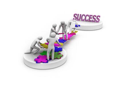 team success: Team work