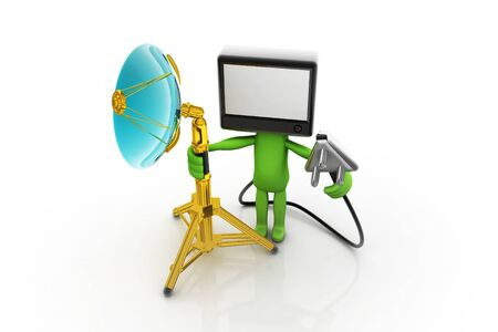 Home TV concept Stock Photo - 9756764