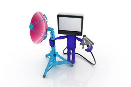 Home TV concept Stock Photo - 9756809