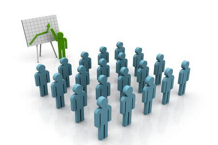 training consultant: Business Presentation Stock Photo