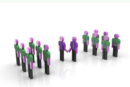 positivist: Teams cooperation