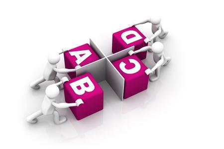 co operation: Team work
