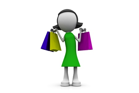 Happy Shopping  photo