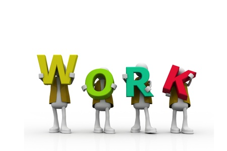 co work: The work word