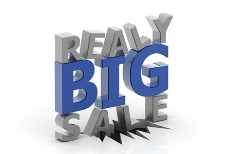 commercial event: Really Big Sale