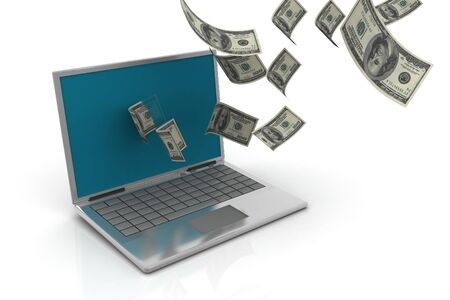 Internet Money Stock Photo - 9776043