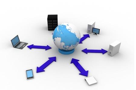 Global Communication Stock Photo - 9776000
