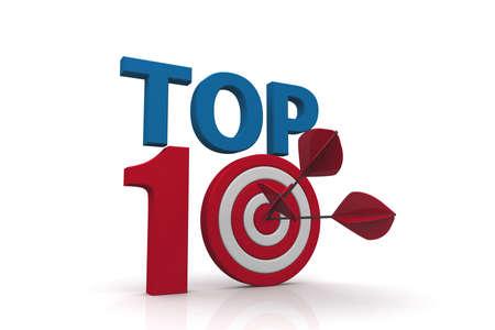 ten best: TOP 10 dart
