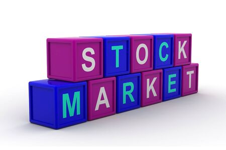 Stock market text Stock Photo - 9776015