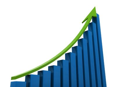 Business Graph Stock Photo - 9775822