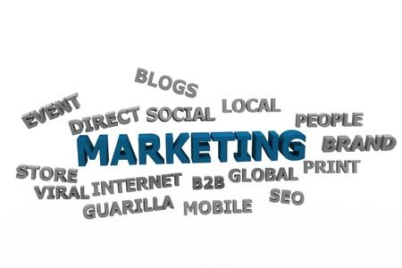 Marketing concept Stock Photo - 9775932