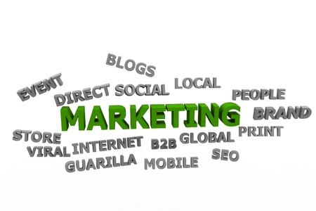 Marketing concept Stock Photo - 9775944