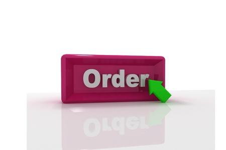 Order button Stock Photo - 9775782