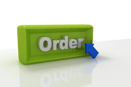 Order button Stock Photo - 9775954