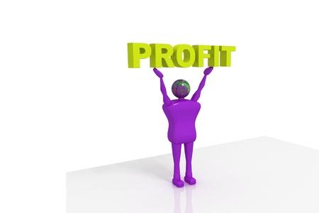 regress: Man and profit
