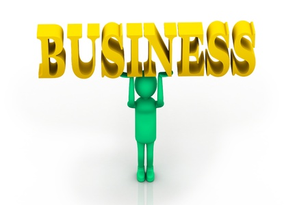 regress: Man and business