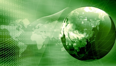 global communications:  Concept of digital earth