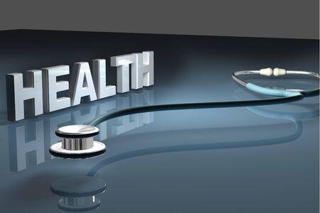Stethoscope and health photo