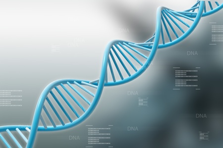 DNA in abstract background