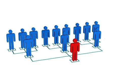 Organization Chart Stock Photo - 10160131