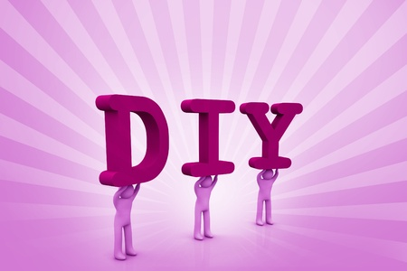 co operation: DIY  Stock Photo