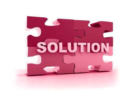 Solution concept in abstract background Stock Photo - 10296004