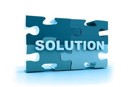 Solution concept in abstract background Stock Photo - 10296005