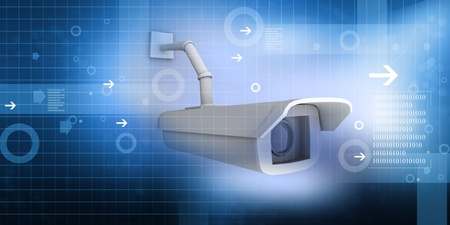 security camera Stock Photo - 10562826