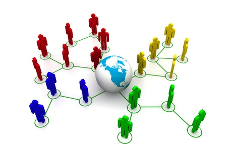 organised: Global Network Concept