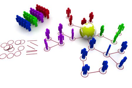 organised group: Global Network Concept