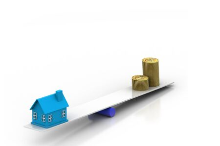 Real Estate Finance Stock Photo