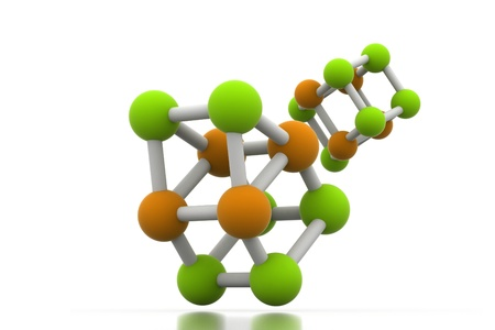 covalent: Molecule in isolated background