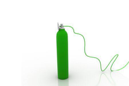 gas cylinder: Gas Cylinder Stock Photo