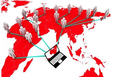 Global Computer Network  photo